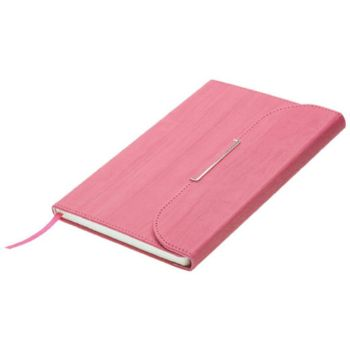 Personalised A5 Clutch Handbag Designed Notebook - Dark Pink